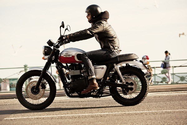 2016 Triumph Scrambler in Port Clinton, Pennsylvania