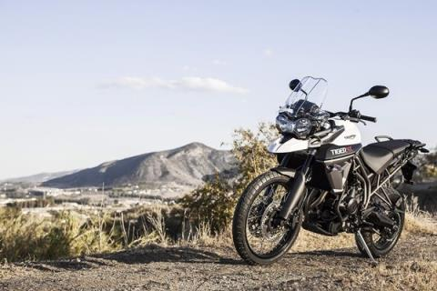 2016 Triumph Tiger 800 XC in Miami, Florida