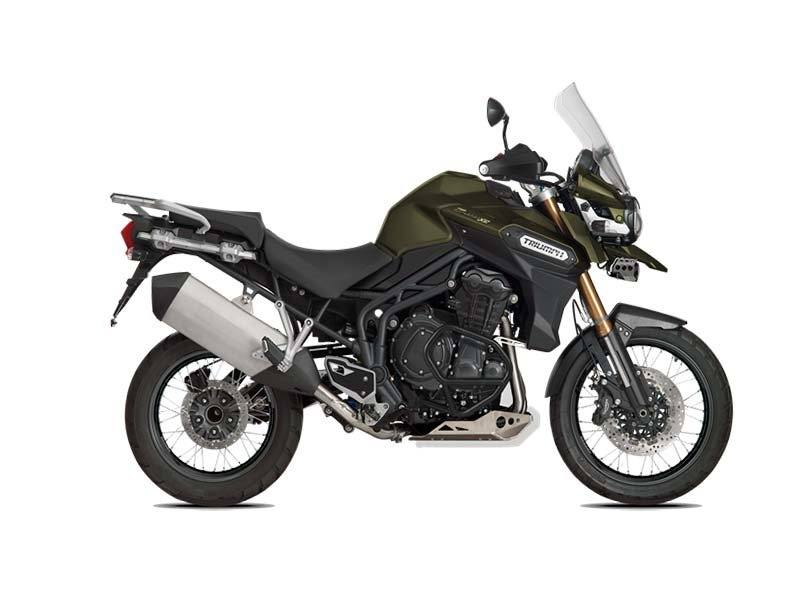2016 Triumph Tiger Explorer XC in Miami, Florida