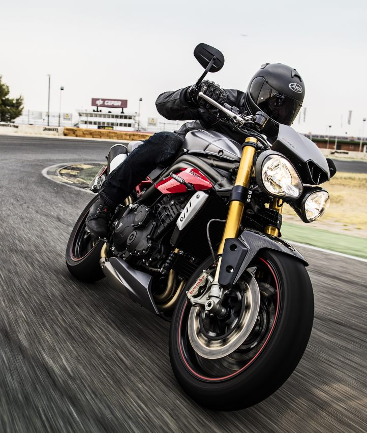 2016 Triumph Speed Triple R ABS in Greenville, South Carolina