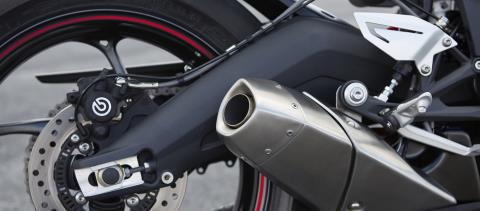 2016 Triumph Daytona 675 ABS in Port Clinton, Pennsylvania