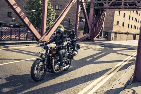 2017 Triumph Bonneville Bobber in Enfield, Connecticut