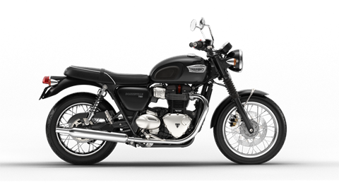 2017 Triumph Bonneville T100 in Dubuque, Iowa