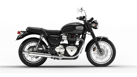 2017 Triumph Bonneville T100 in Greenville, South Carolina