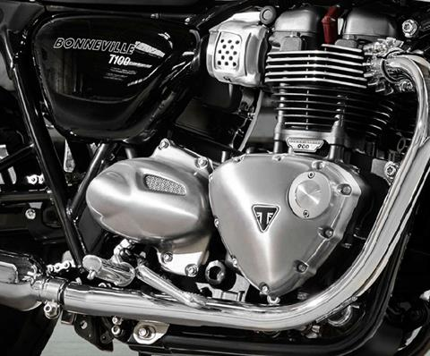 2017 Triumph Bonneville T100 in Greenville, South Carolina - Photo 8