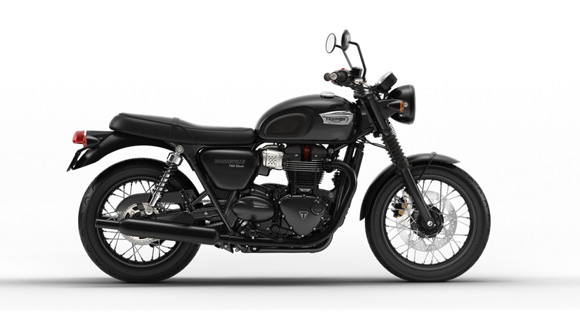 2017 Triumph Bonneville T100 Black in Mahwah, New Jersey