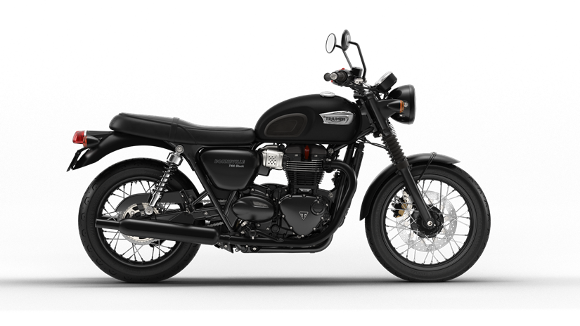 2017 Triumph Bonneville T100 Black in Katy, Texas