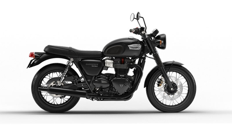 2017 Triumph Bonneville T100 Black in Greenville, South Carolina
