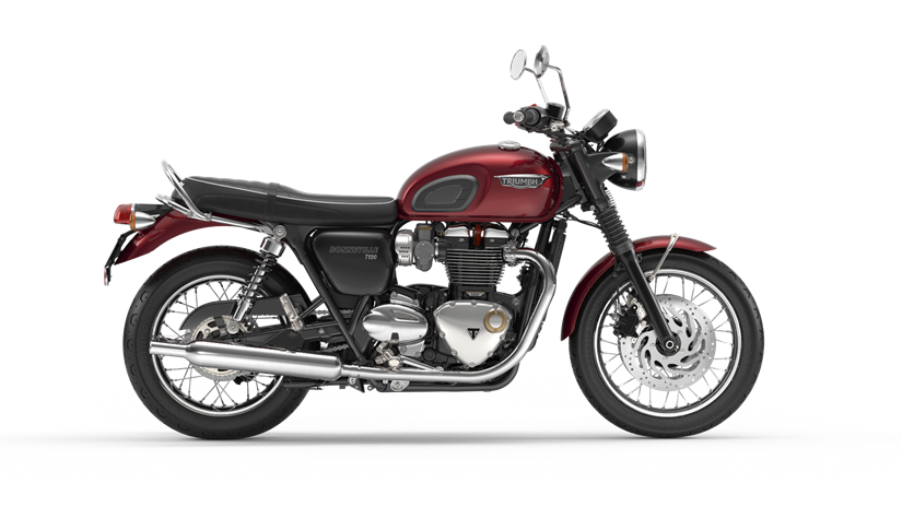 2017 Triumph Bonneville T120 in Dubuque, Iowa