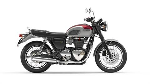 2017 Triumph Bonneville T120 in Kingsport, Tennessee