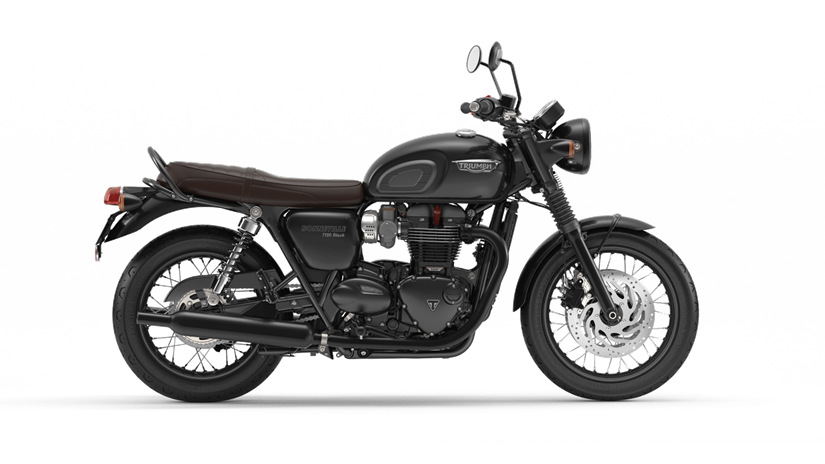2017 Triumph Bonneville T120 Black in Brea, California