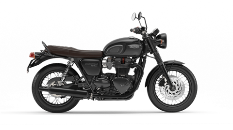 2017 Triumph Bonneville T120 Black in Simi Valley, California