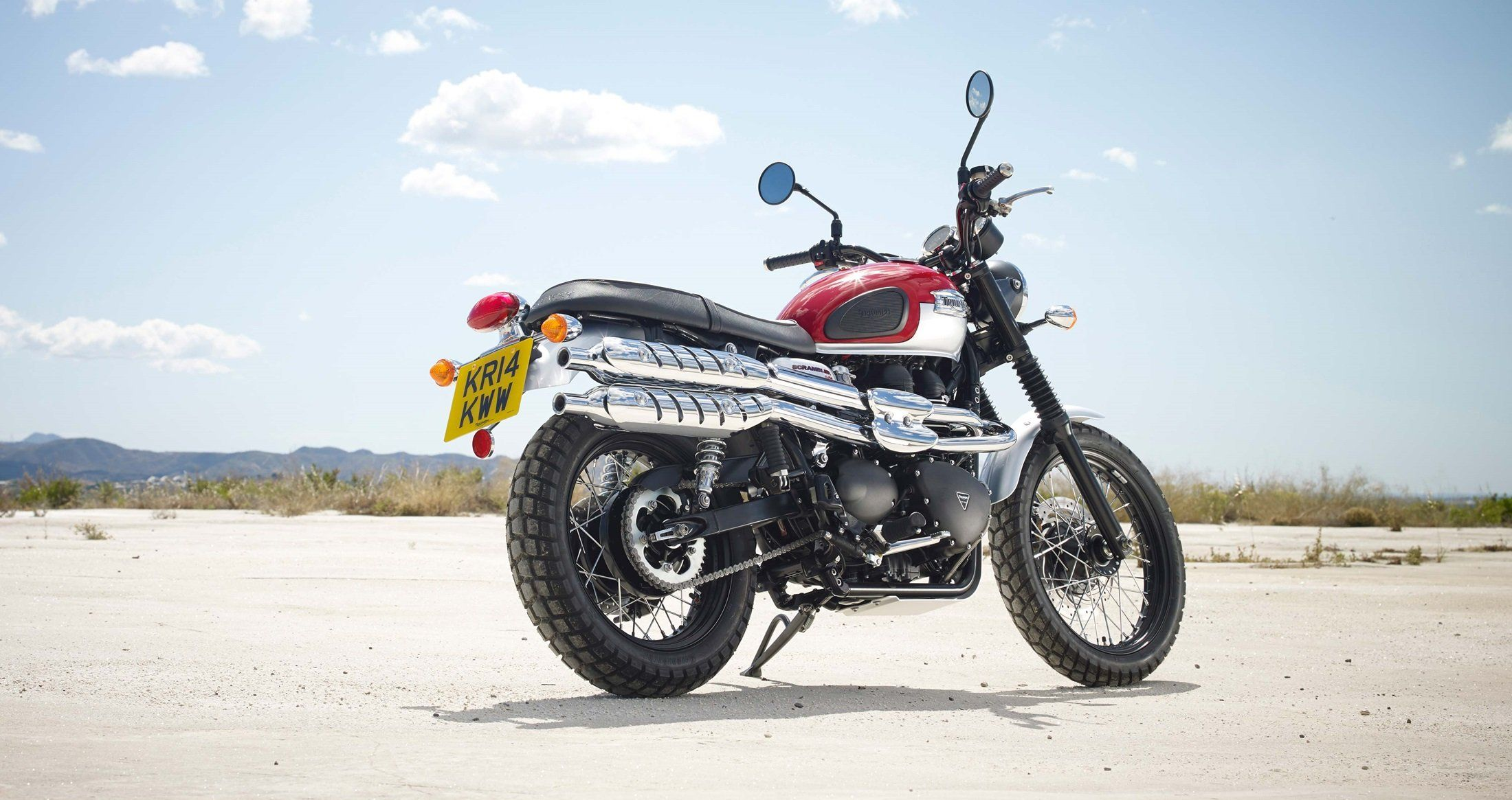 2017 Triumph Scrambler in Dubuque, Iowa