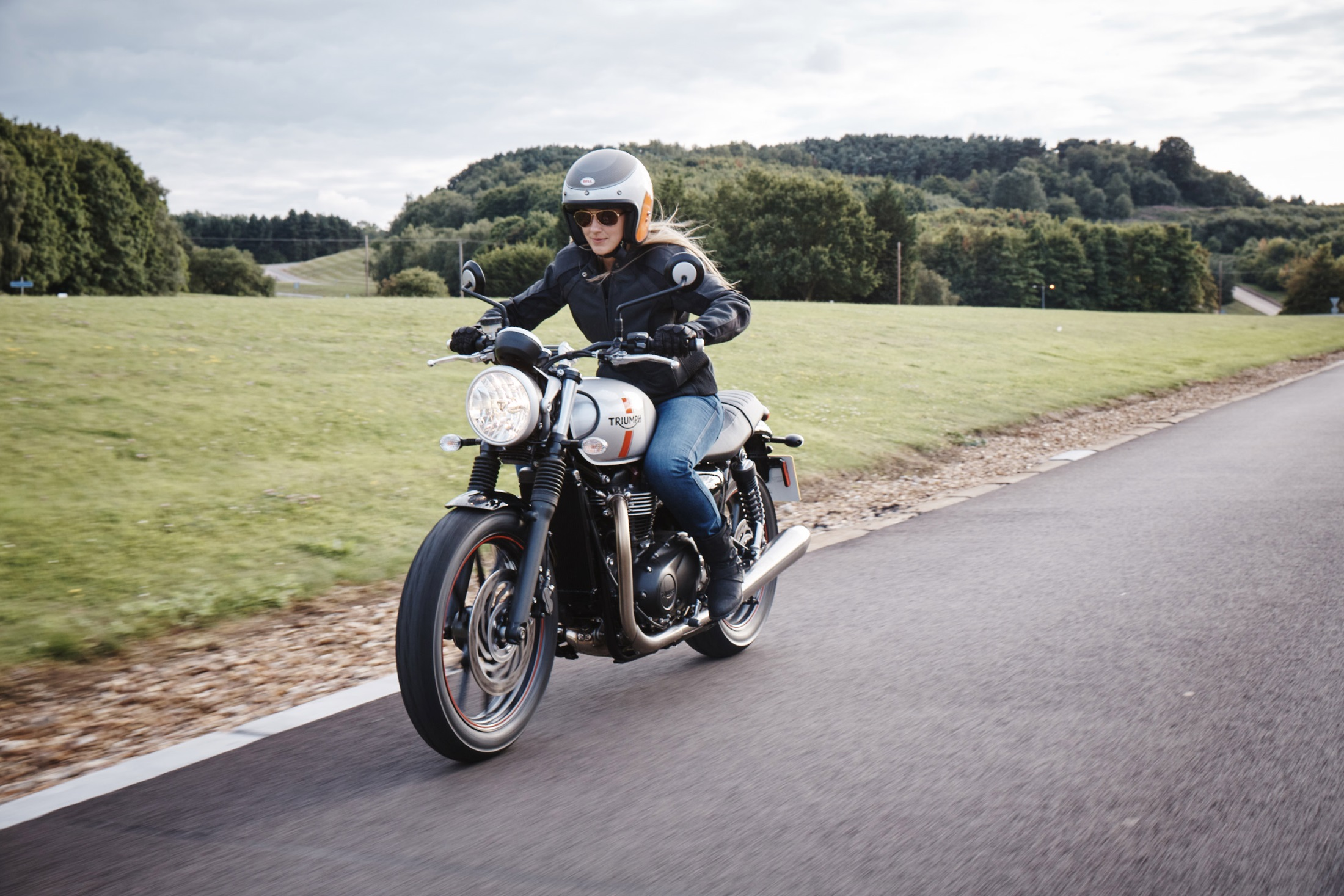2017 Triumph Street Twin in Mahwah, New Jersey