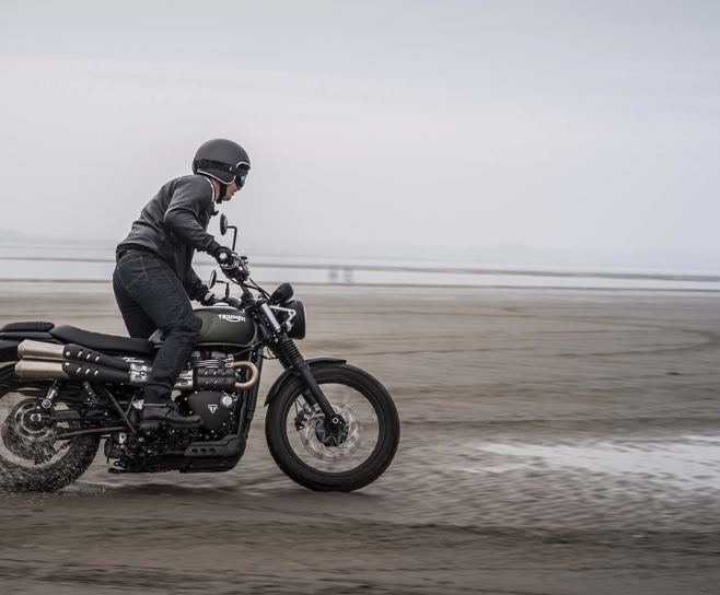 2017 Triumph Street Scrambler in Port Clinton, Pennsylvania