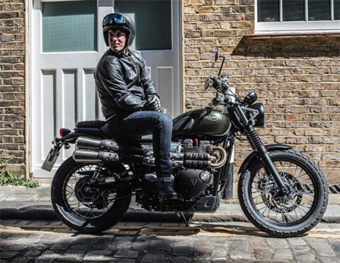 2017 Triumph Street Scrambler in Greensboro, North Carolina