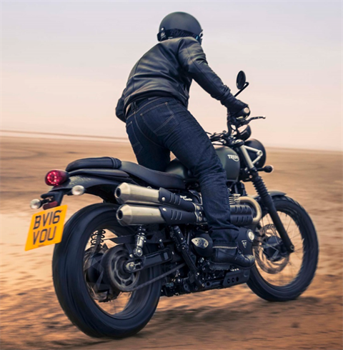 2017 Triumph Street Scrambler in Dubuque, Iowa