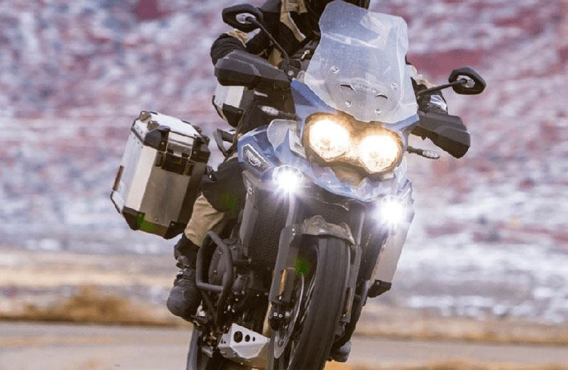 2017 Triumph Tiger 800 XCx Low in Saint Charles, Illinois