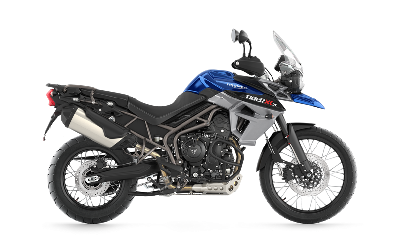 2017 Triumph Tiger 800 XCx Low in San Bernardino, California