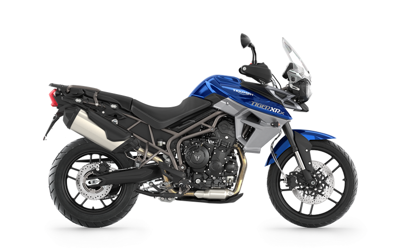 2017 Triumph Tiger 800 XRX in Greenville, South Carolina