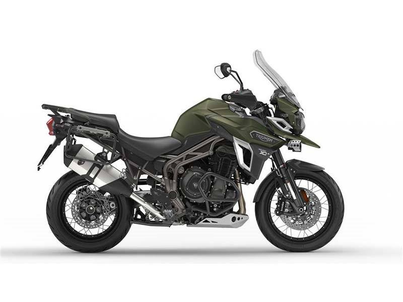 2017 Triumph Tiger Explorer XCA in Shelby Township, Michigan