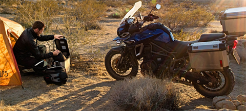2017 Triumph Tiger Explorer XCA in San Bernardino, California