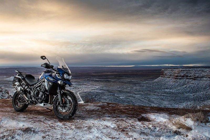 2017 Triumph Tiger Explorer XCx Low in Belle Plaine, Minnesota