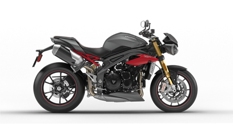 2017 Triumph Speed Triple R in Dubuque, Iowa
