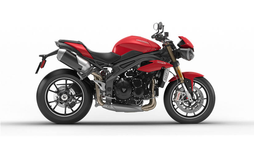 2017 Triumph Speed Triple S in Sarasota, Florida