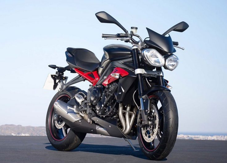 2017 Triumph Street Triple R in Columbus, Ohio
