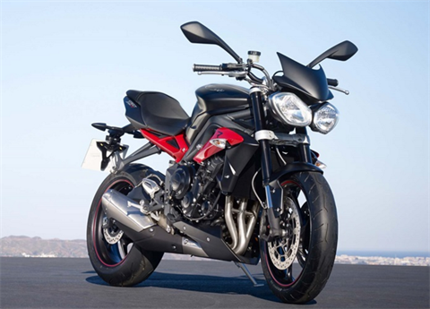 2017 Triumph Street Triple R in Enfield, Connecticut