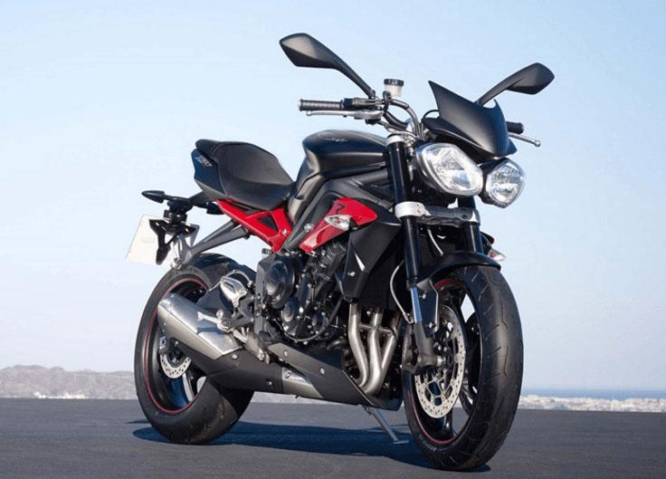 2017 Triumph Street Triple R in Greenville, South Carolina