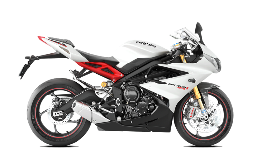 2017 Triumph Daytona 675 R ABS in Shelby Township, Michigan