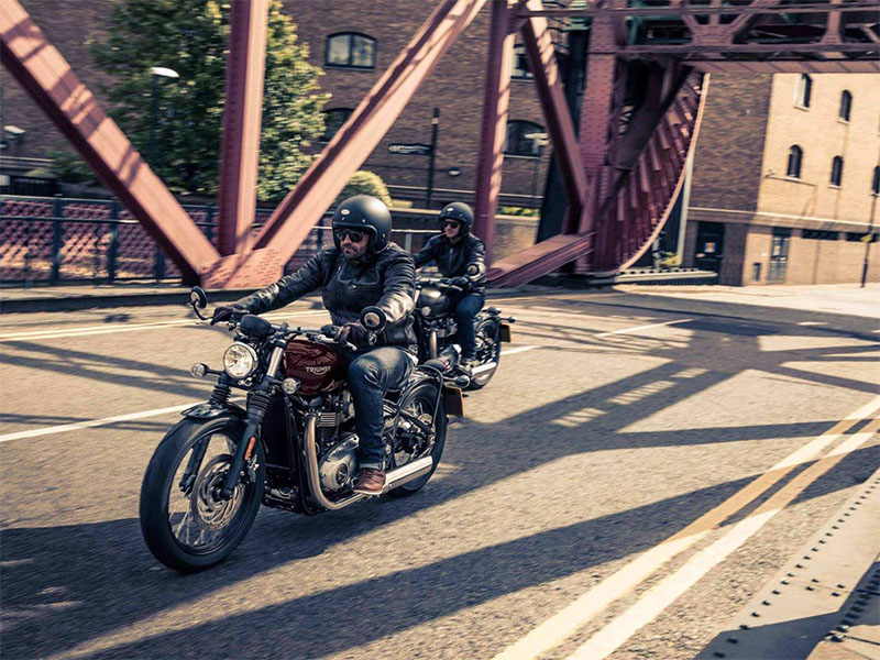 2018 Triumph Bonneville Bobber in Belle Plaine, Minnesota