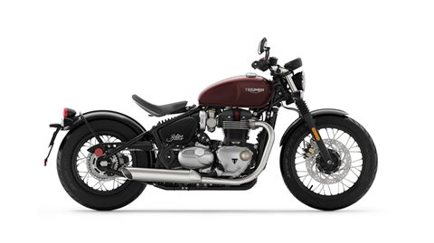 2018 Triumph Bonneville Bobber in New Haven, Connecticut