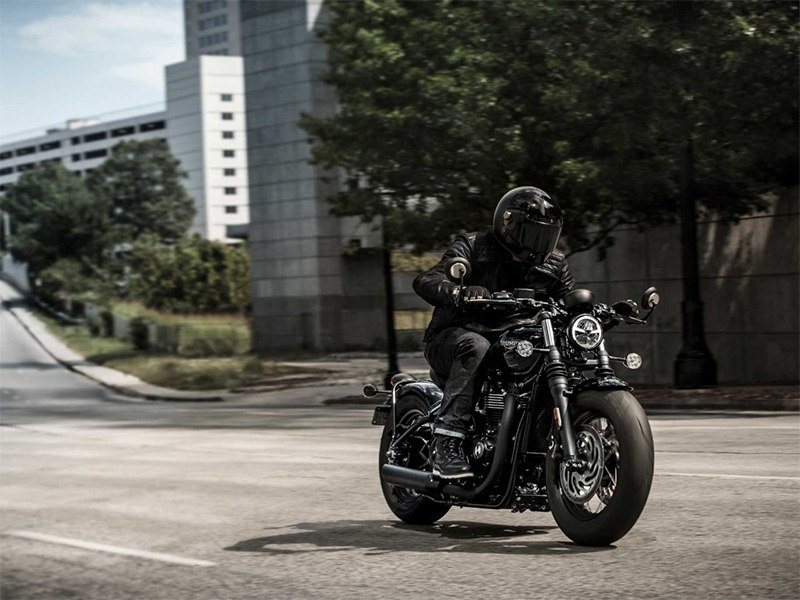2018 Triumph Bonneville Bobber Black in New Haven, Connecticut