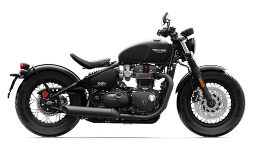 2018 Triumph Bonneville Bobber Black in Iowa City, Iowa - Photo 1