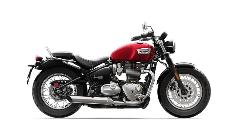 2018 Triumph Bonneville Speedmaster in Belle Plaine, Minnesota