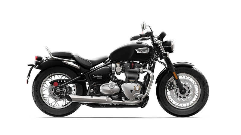 2018 Triumph Bonneville Speedmaster in Iowa City, Iowa