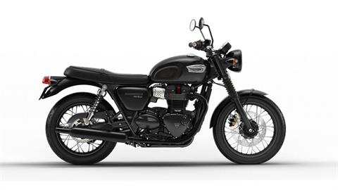 2018 Triumph Bonneville T100 Black in Tarentum, Pennsylvania