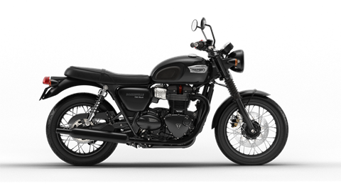 2018 Triumph Bonneville T100 Black in Belle Plaine, Minnesota