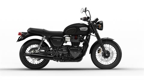 2018 Triumph Bonneville T100 Black in New Haven, Connecticut