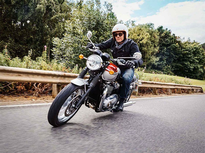 2018 Triumph Bonneville T120 in Greensboro, North Carolina