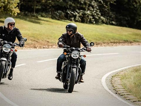 2018 Triumph Bonneville T120 in Greenville, South Carolina