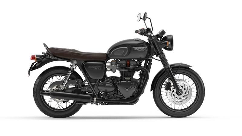 2018 Triumph Bonneville T120 Black in Brea, California