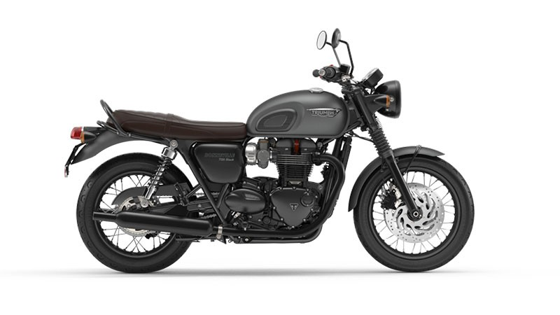 2018 Triumph Bonneville T120 Black in Cleveland, Ohio - Photo 1