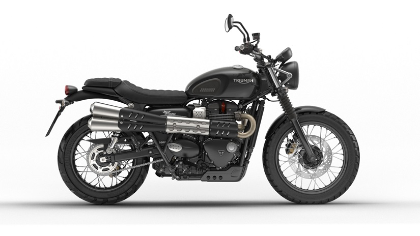 2018 Triumph Street Scrambler in Dubuque, Iowa