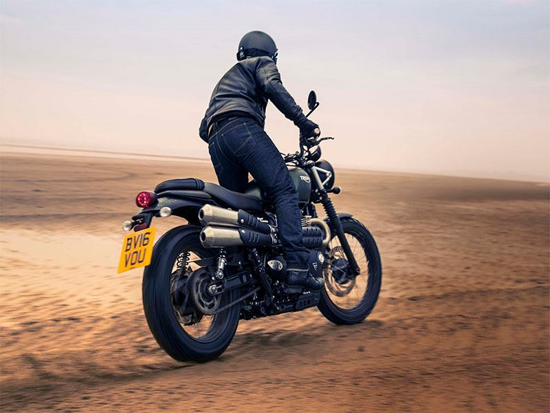 2018 Triumph Street Scrambler in Greensboro, North Carolina