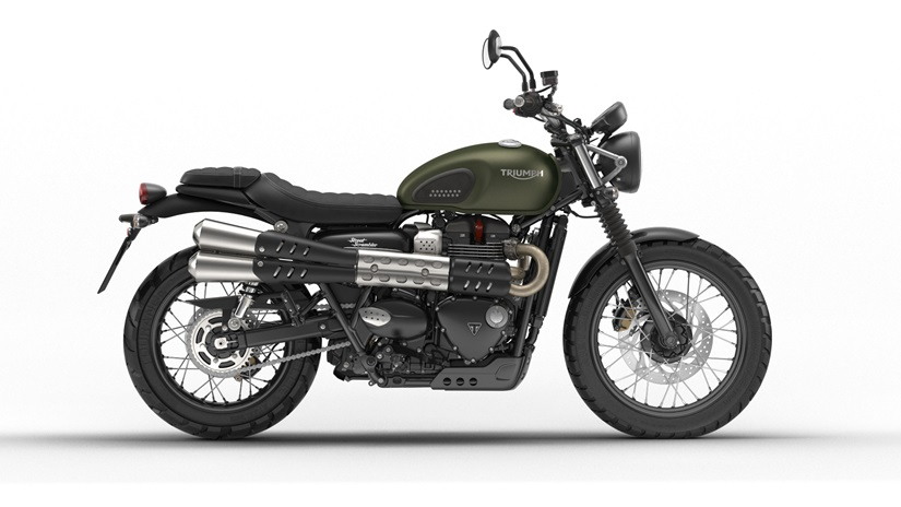 2018 Triumph Street Scrambler in Shelby Township, Michigan