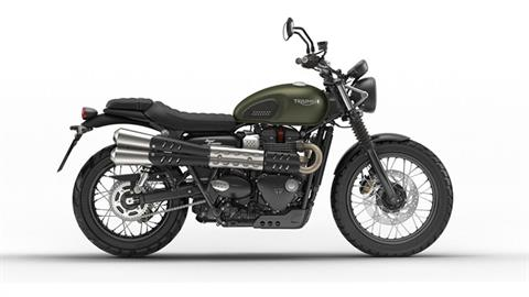 2018 Triumph Street Scrambler in Port Clinton, Pennsylvania
